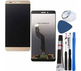 Pantalla Completa para Huawei Honor 5X Dorado Dorada Oro ARREGLATELO - 1
