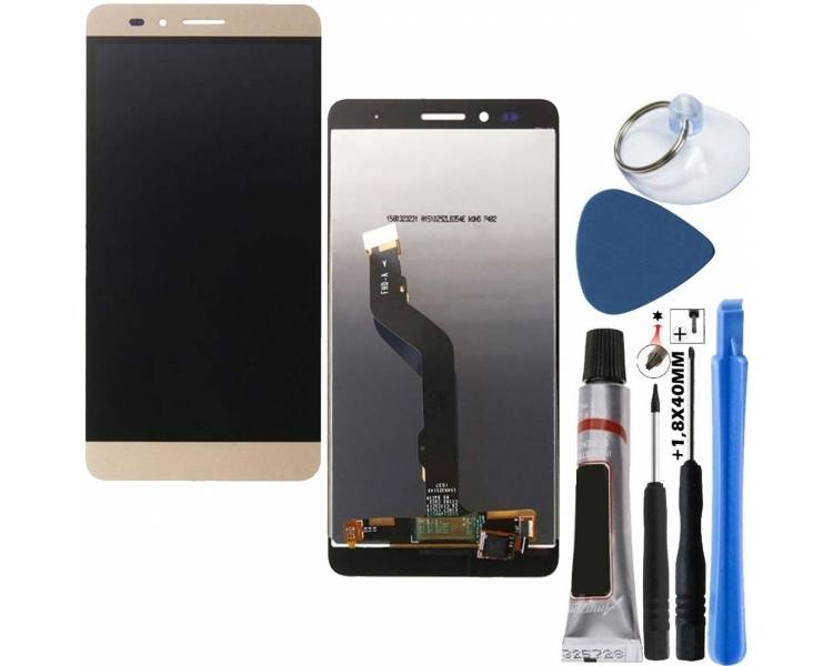 Pełny ekran dla Huawei Honor 5X Gold Gold Gold ARREGLATELO - 1