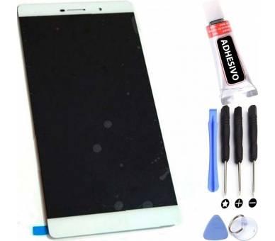 Display For Huawei Ascend P8, Color White ARREGLATELO - 1