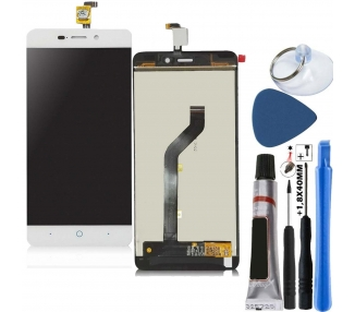 Display For ZTE Blade A452, Color White