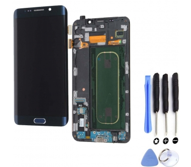 Oryginalny pełny ekran do Samsung Galaxy S6 Edge Plus Blue G928F G928 Samsung - 1