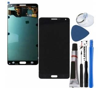 Oryginalny pełny ekran do Samsung Galaxy A7 A700 A700F Czarny Czarny