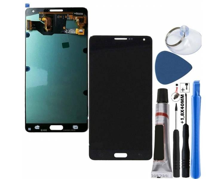 Origineel volledig scherm voor Samsung Galaxy A7 A700 A700F Zwart Zwart Samsung - 1