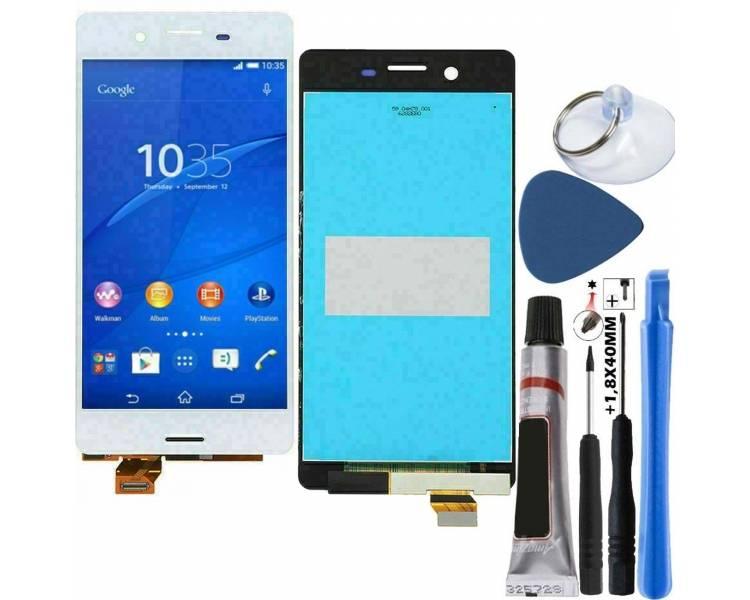 Pełny ekran dla Sony Xperia X F5121 F5122 Biały Biały