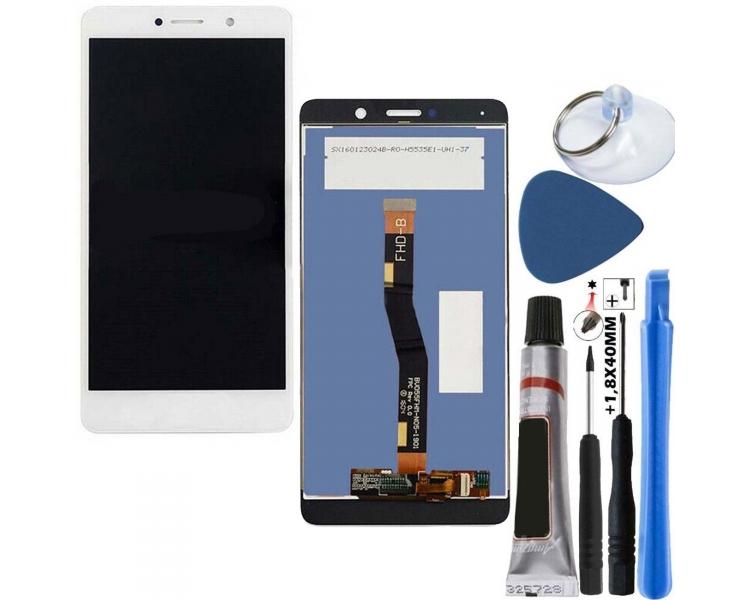 Volledig scherm voor Huawei Ascend GR5 Wit Wit FIX IT - 1