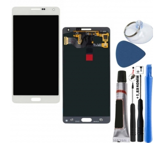 Oryginalny pełny ekran do Samsung Galaxy A7 A700F Biały Biały