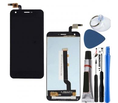 Pełny ekran dla Vodafone Smart Ultra 6 VF995N VF995 Czarny Czarny ARREGLATELO - 1