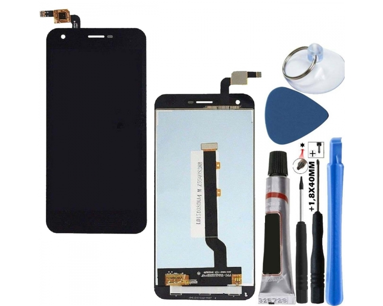 Pełny ekran dla Vodafone Smart Ultra 6 VF995N VF995 Czarny Czarny