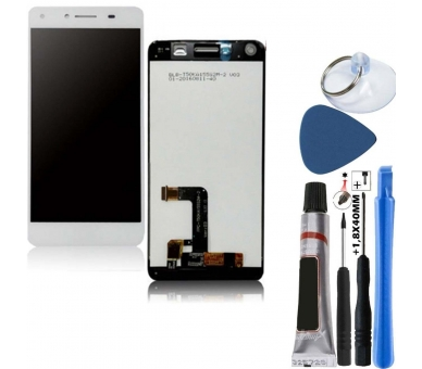 Display For Huawei Y5 2, Color White ARREGLATELO - 1