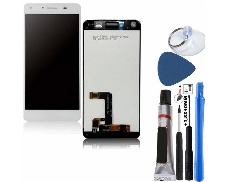Volledig scherm voor Huawei Y5 2 Y5-2 II REF: TXDT500QYPA-213 Wit Wit FIX IT - 1