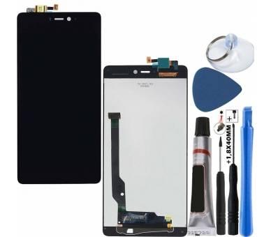 Volledig scherm voor Xiaomi Mi4C Mi 4C Zwart Zwart FIX IT - 1