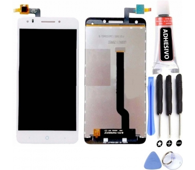 Display For ZTE Blade A570, Color White ARREGLATELO - 1