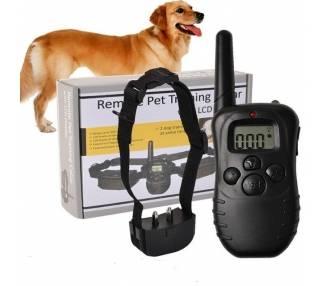 Collar de entrenamiento eléctrico impermeable recargable Perro antiladrido 300m ARREGLATELO - 1