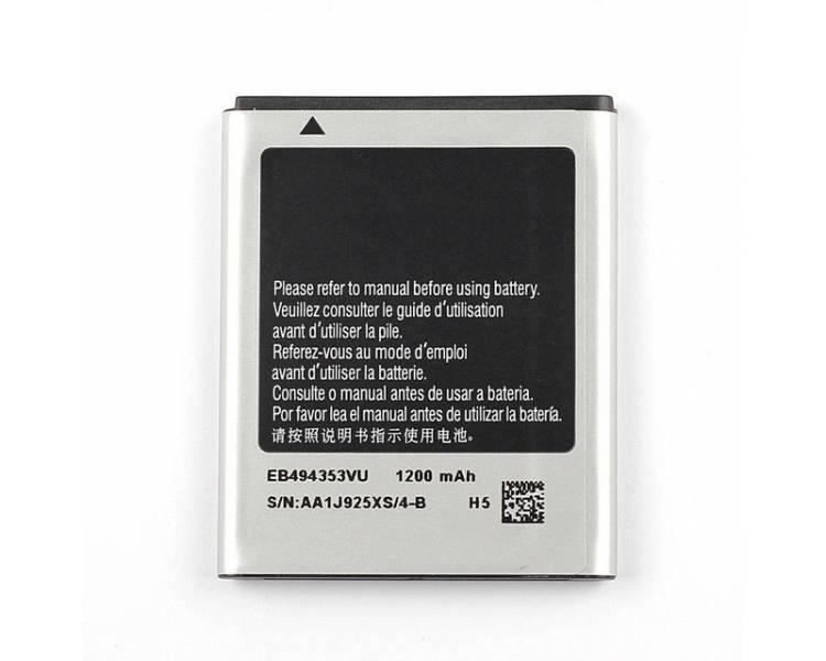 Bateria Compatible para Samsung Galaxy mini S5570 S5330 S5250 EB494353VU S5750  - 1