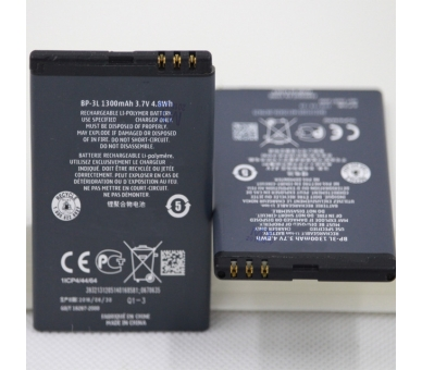 Bateria Original NOKIA BP-3L BP3L para 603 801T Asha 303 Lumia 505 510 610 710  - 6