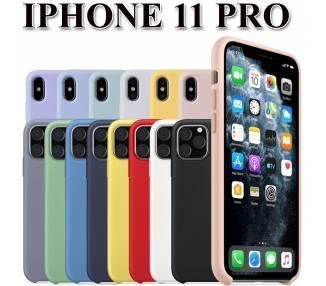 Funda Carcasa de Silicona Suave Líquida para iPhone 11 Pro - Diseño Original