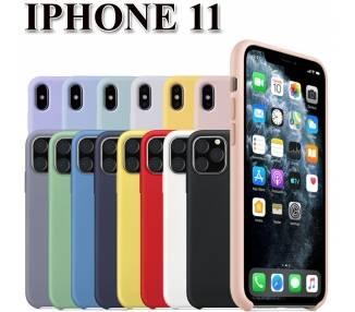 Funda Carcasa de Silicona Suave Líquida para iPhone 11 - Diseño Original