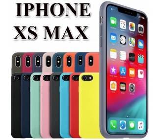 Funda Carcasa de Silicona Suave Líquida para iPhone XS Max - Diseño Original
