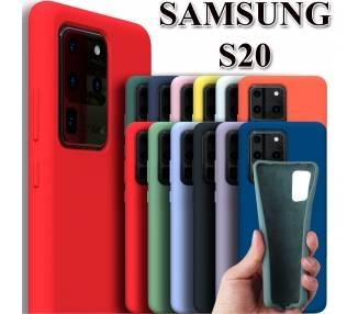 Funda Carcasa de Silicona Suave Líquida para Samsung Galaxy S20 - Diseño Original ARREGLATELO - 1