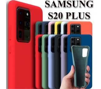 Funda Carcasa de Silicona Suave Líquida para Samsung Galaxy S20 Plus - Diseño Original ARREGLATELO - 1