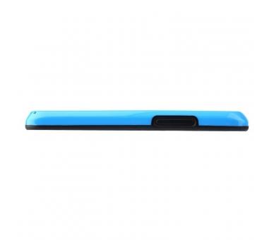 Funda BUMPER Slim para Lg Google Nexus 4 TPU + SILICONA color Azul  - 3