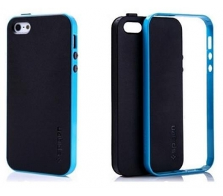 FUNDA CARCASA TPU para IPHONE 5 5S NEO HYBRID COLOR Azul