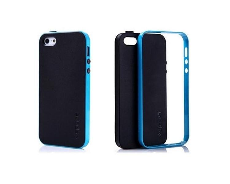 CASE COVER TPU voor IPHONE 5 5S NEO HYBRID COLOR Blue ARREGLATELO - 1
