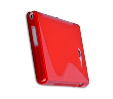 Sony Xperia M2 Case - TPU Case - Color Red - 8