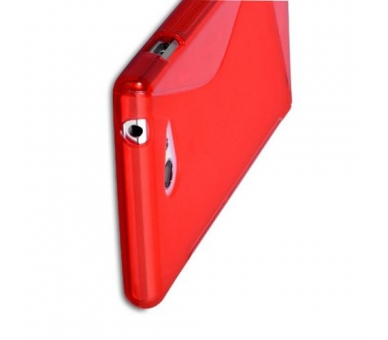 Sony Xperia M2 Case - TPU Case - Color Red  - 9