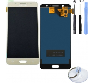 Display for Samsung Galaxy J5 2016, SM-J510F, TFT, Without Frame, Gold Samsung - 1