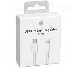 Cable USB-C Tipo C a Lightning Cable 1M Blanco Carga Rapida Apple - 1