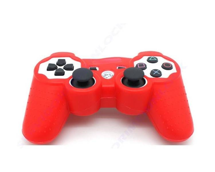 PlayStation 3 - Controller Case - Color Red  - 1