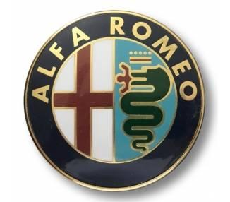 Emblema Logo Insignia 74 mm para Alfa Romeo Mito GOLD 147 159 GT
