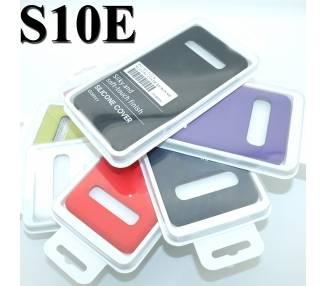Funda de Silicona Suave Líquida para Samsung Galaxy S10e - Diseño Original