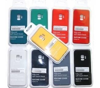 Funda de Silicona Suave Líquida para Samsung Galaxy S9 - Diseño Original