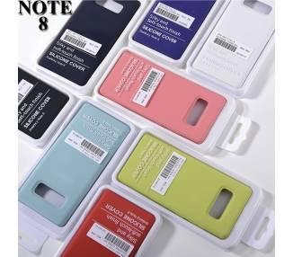 Funda de Silicona Suave Líquida para Samsung Galaxy Note 8 - Diseño Original