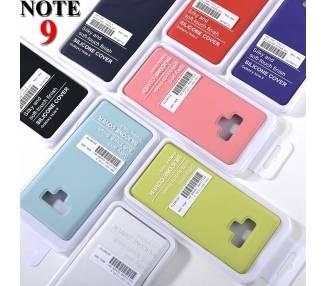 Vloeibaar zacht siliconen hoesje voor Samsung Galaxy Note 9 - origineel ontwerp