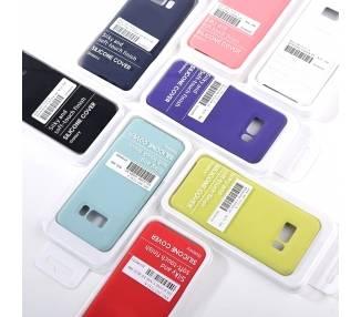 Funda de Silicona Suave Líquida para Samsung Galaxy S8 Plus - Diseño Original