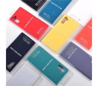 Funda Carcasa de Silicona Suave Líquida para Samsung Galaxy Note 10 - Diseño Original