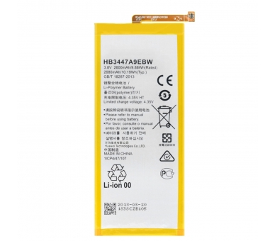 Battery For Huawei P8 , Part Number: HB3447A9EBW ARREGLATELO - 2