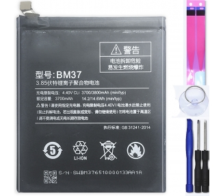 Bateria para Xiaomi Mi 5S Plus, MPN Original: BM37 Xiaomi - 1