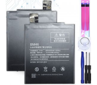 Bateria para Xiaomi Redmi Note 3 / Pro / Prime, MPN Original: BM46 ARREGLATELO - 1