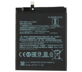 Bateria Interna para Xiaomi Mi8 Pro, Mi 8 Pro, MPN Original: BM3F Xiaomi - 5