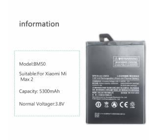 Bateria Interna para Xiaomi Mi Max 2 MiMax 2, MPN Original: BM50 Xiaomi - 2