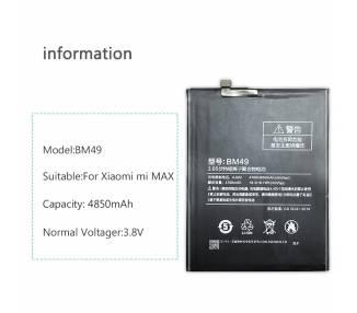 Battery for Xiaomi Mi Max MiMax - Part Number BM49 Xiaomi - 6