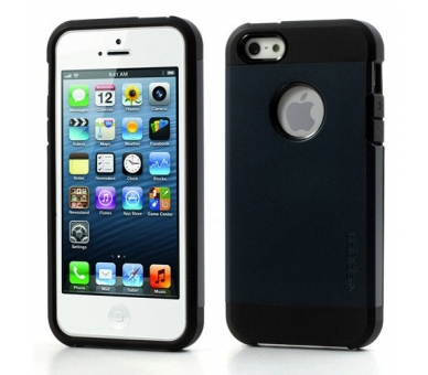 FUNDA SPG SPIGEN TOUGH ARMOR 2ND GENERACION PARA IPHONE 4 & 4s Color Azul Oscuro - 1