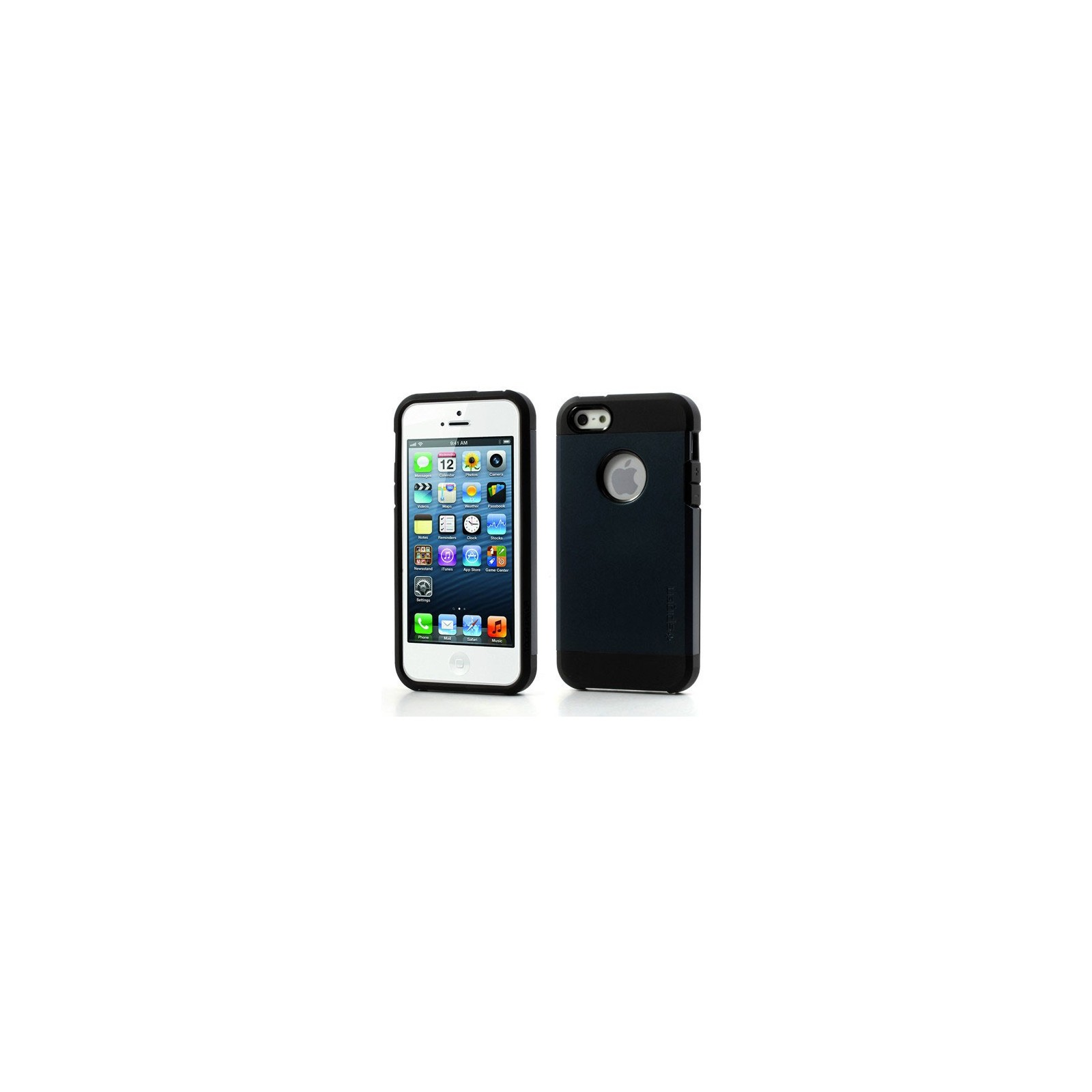 FUNDA SPG SPIGEN TOUGH ARMOR 2ND GENERACION PARA IPHONE 4 & 4s Color Azul Oscuro ARREGLATELO - 1