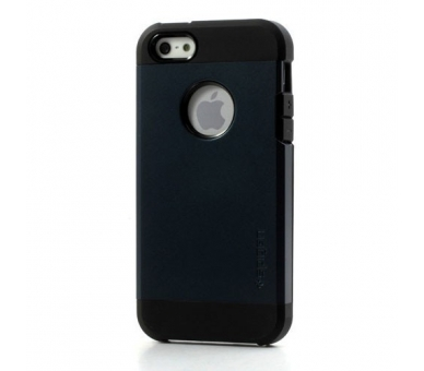FUNDA SPG SPIGEN TOUGH ARMOR 2ND GENERACION PARA IPHONE 4 & 4s Color Azul Oscuro - 2