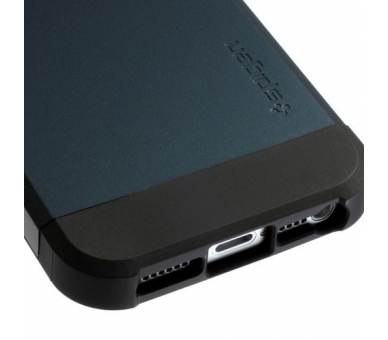FUNDA SPG SPIGEN TOUGH ARMOR 2ND GENERACION PARA IPHONE 4 & 4s Color Azul Oscuro - 5