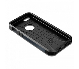 FUNDA SPG SPIGEN TOUGH ARMOR 2ND GENERACION PARA IPHONE 4 & 4s Color Azul Oscuro ARREGLATELO - 7